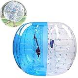 WYLDDP 1.2M Zorb Ball Bubble Ball Paraurti Gonfiabile Body Ball Palla di Criceto Umana per Spiaggia All'aperto Gioco da Campeggio Bambini per Adulti,Blu