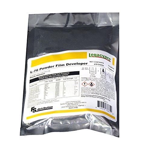 LegacyPro L-76R Black & White Powder Film Developer (Makes 1 Gallon)