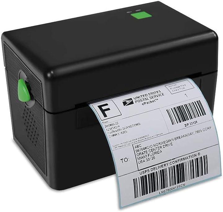 Stampante termica per ricevute con stampa ad alta velocità (inclusa unità disco u e 50 etichette) B08S3DH73B