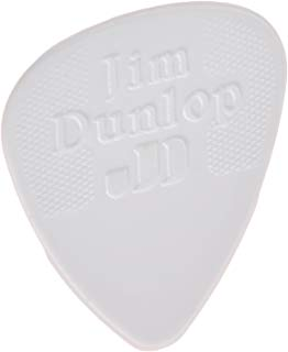 Dunlop 44P.38 Nylon Standard, White, .38mm, 12/Player's Pack
