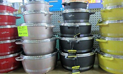 Tri Star ambiante Deluxe Réchaud isotherme chaud Pots casseroles 2.5 l/3500 ml et 6000 ml Lot de 3