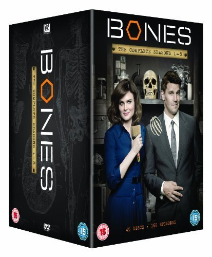 Bones (Complete Seasons 1-8) - 45-DVD Box Set ( Bones - Complete Seasons One to Eight ) [ Origen UK, Ningun Idioma Espanol ]