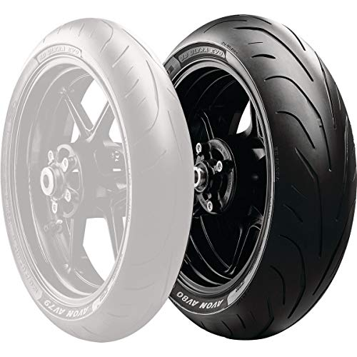TYRE AVON 3D ULTRA EVO AV80 180 55 ZR17 (73W) TL REAR FOR MOTORBIKES