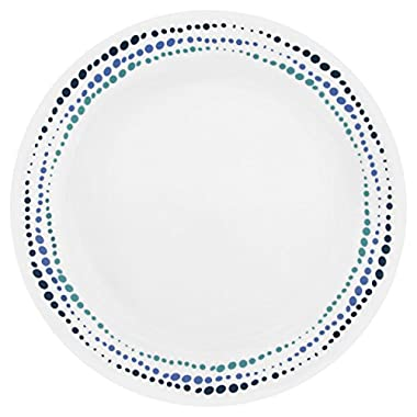 Corelle Livingware Ocean Blues 10.25  Dinner Plate (Set of 4)