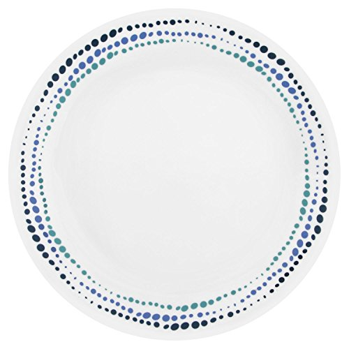 Corelle Livingware Ocean Blues 10.25' Dinner Plate (Set of 4)