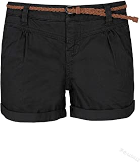 Mogogo Womens Classics Oversized Rolled Cuff Leisure Bermuda Shorts
