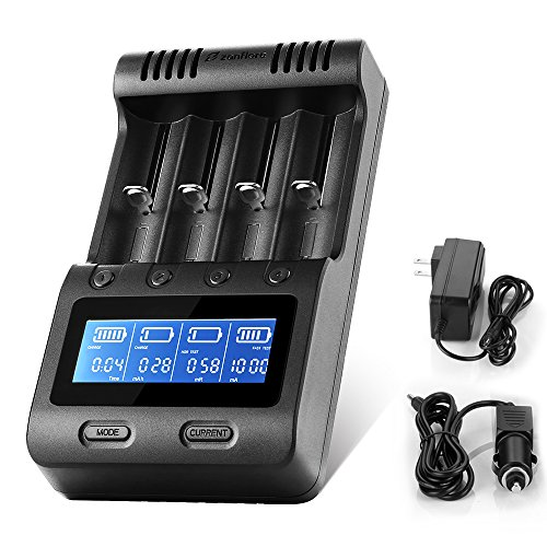 Zanflare LCD Display Speedy Universal Battery Charger