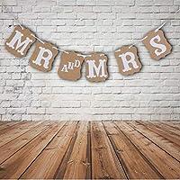 PULABO ?素敵なバナー結婚式の装飾MRとMRSスタイリッシュで人気のある安全