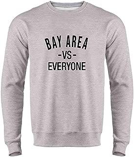 Bay Area vs Everyone San Francisco Oakland Crewneck Sweatshirt for Men