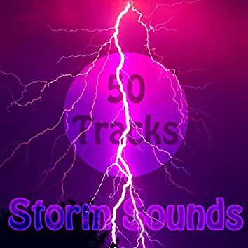 50 Tracks Storm Rain and Thunder Nature with Ambient Music for Meditation Relaxation Focus Zen
