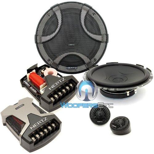 "ESK-F165.5 - Hertz 6.5"" 270W Peak 2-Way Shallow Depth Component Speaker System"
