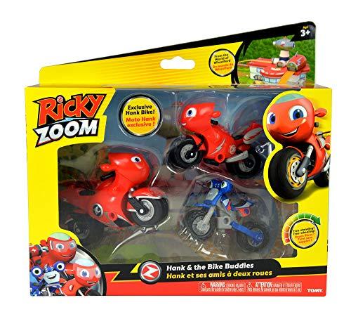 Bizak Ricky Zoom Pack de 3 Personajes, Color Modelos Surtido