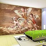 4D Tapeten Wandbilder,Kreative Europäische Style White