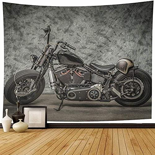 Tapiz Tapiz De Pared Tapices De Pared Motocicleta Cool Harley Vintage Softail Bicicleta Chopper Classic Biker Bob Decoración Del Hogar Decoración O Decoración? 150*200Cm