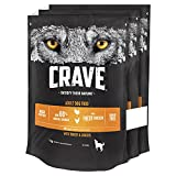 Crave Dry Dog Food with Turkey & Chicken – High Protein & Grain-Free – 1 kg (Pack of 3)