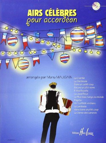 Airs Célèbres pour Accordéon [CD]