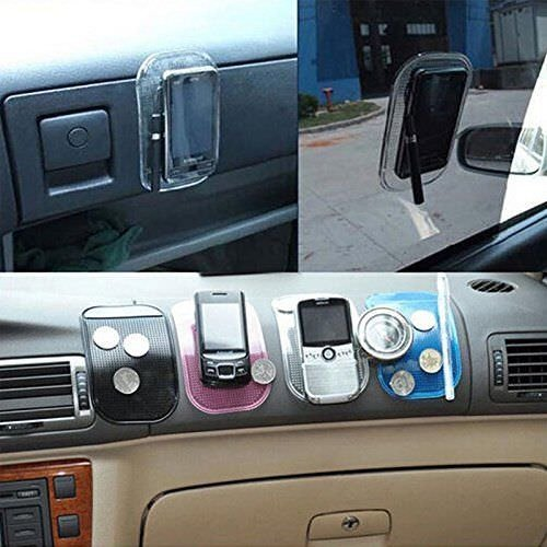 I-Sonite Non-Slip Car Mat Anti Slide Dashboard Sticky PAD Car Holder for Asus ZenFone Max (2016)