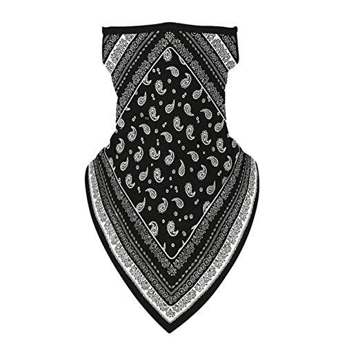SJYM Pañuelo al Aire Libre Moda Impreso Bufandas Multifuncional Sin Costuras Secado rápido Diadema Cabeza Bufanda Pañuelo, A33