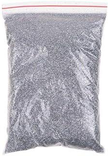 FidgetGear 100グラムネイルアートアクリルメタルグリッターパウダーダストジェムクラフトカード飾るdiy 銀