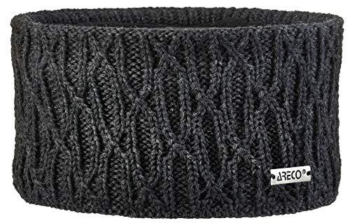 Areco Damen Nora'18 Stirnband, Anthrazit, One Size