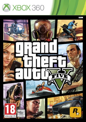 Microsoft Grand Theft Auto V (Xbox 360) [Import UK]