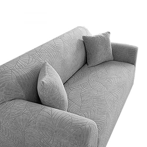 ALGWXQ - seat cushions Addensare Copridivano Jacquard Tridimensionale Elastico in Rilievo per Soggiorno Copridivano Copridivano per mobili 1/2/3/4 posti Tinta Unita-C||1-Seater 90-140cm