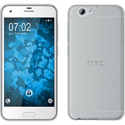 PhoneNatic Case kompatibel mit HTC One A9s - Clear Silikon Hülle transparent Cover