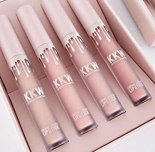 KKW Kylie Jenner Cosmetics 4 Creme Liquid Lipstick similaring US Gift Box