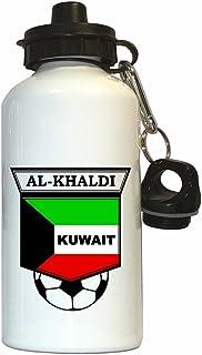 Nawaf Al-Khaldi (Kuwait) Soccer Water Bottle White