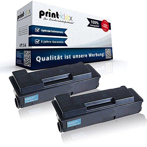 2x Kompatible Tonerkartuschen für Kyocera FS 2000 D FS 2000 DN FS 2000 DTN FS 3900 DN FS 3900 DTN FS 4000 DN FS 4000 DTN 1T02F80EU0 TK-310 TK 310 TK310 Black Schwarz - Office Plus Serie