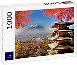 Lais Puzzle Monte Fuji Japón en Colores otoñales 1000 Piezas