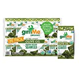 gimMe Organic Roasted Seaweed Sheets - Extra Virgin Olive Oil - 20 Count - Keto, Vegan, Gluten Free - Great Source of Iodine and Omega 3's - Healthy On-The-Go Snack for Kids & Adults