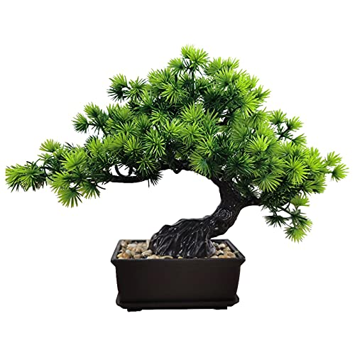 UXELY Bonsai Tree, Lifelike Fake Plants Potted Tree, Artificial Bonsai Tree Indoor Plant, House Plant for Home Decor Living Room Office