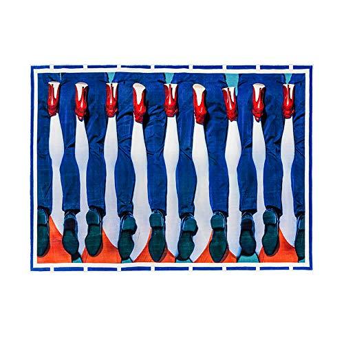 Tapis en Polyester/Coton « Toiletpaper» 200 x 280 cm – Pieds