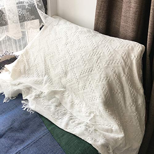 Deken deken beddengoed dekbed laken sprei airconditioning tv sofa slaapkamer bed balkon woonkamer stoel dutje brei nordic stijl wit