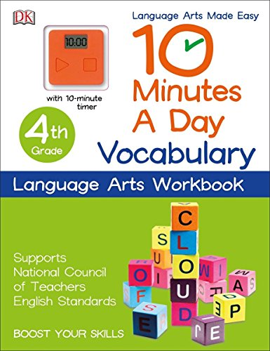 10 Minutes a Day: Vocabulary, Fourth Grade: Supports National Council of Teachers English Standards