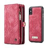 LJFLI iPhone 13 Pro MAX Fundas Carcasa de Telefono 11 tarjeteros 2 monederos 1 Bolsa con Cremallera Cartera con Tapa de Tarjeta Estuche Multifuncional Creativo,Pink,13