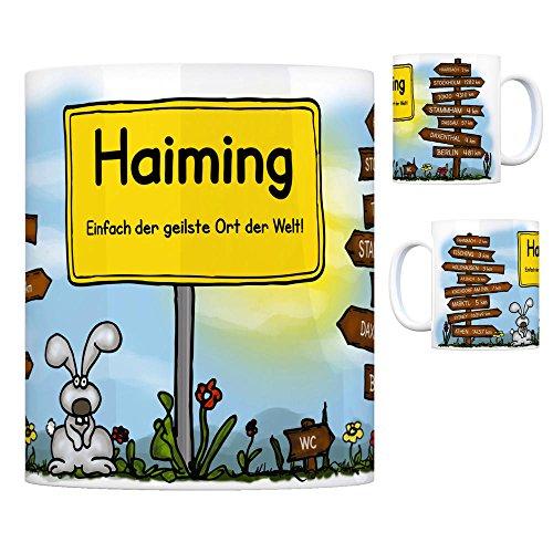 trendaffe - Haiming Kreis Altötting - Einfach die geilste Stadt der Welt Kaffeebecher