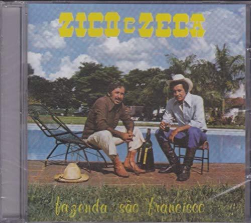 Zico e Zeca - Cd Fazenda São Francisco - 1981