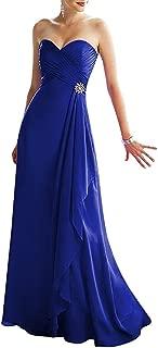 TalinaDress Women's Long Sweetheart Bridesmaid Dress Prom Gown E293LF