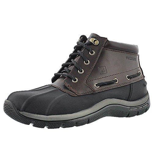Sperry Top-Sider Mens Glacier Winter Boot Black 10 M US