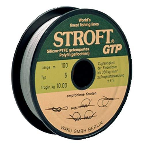 Cuerda STROFT GTP Number-15tipo R 250m gris claro, unisex, R3-0,200mm-7kg