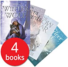 Holly Webb Winter Animal Collection 4 Books Set (The storm Leopards, The Winter Wolf, The Snow Bear, The Reindeer Girl)