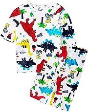 Unifriend 7分袖7分丈 男児 キッズ パジャマ オーガニック 綿100% 子供 ルームウェア ねまき 上下セット
