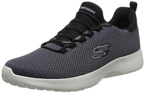 Skechers Herren 58360-BBK_42 Sports Shoes,Sneakers, Black, EU