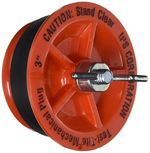 IPS Corp 83593 Twist-Tite Mechanical Test Plug, 3 inch, 7.2...