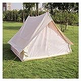 Equipo de campamento Tienda de campaña familiar para acampar al aire libre Fácil instalación Cabina retro de lujo al aire libre Campamento Tecnología ligera de algodón Tienda de campaña ligera Tien