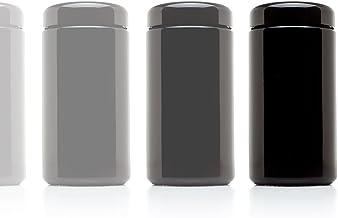 Infinity Jars 500 ml (17 fl oz) 10-Pack Tall Large Black Ultraviolet Glass Wide Mouth Screw Top Jar