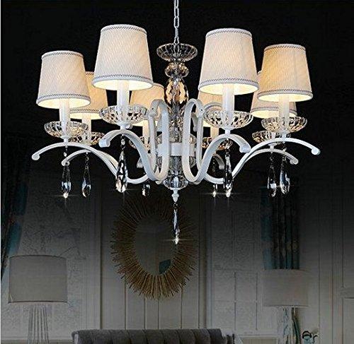 Gowe Moderne Wohnzimmer, Eßzimmer Luxus Kristall-Lüster mit Schatten.