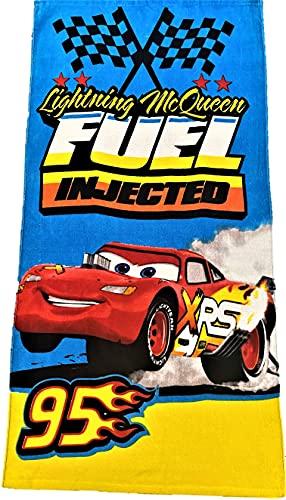 Cars Disney Pixar Lightning McQueen Piston Cup Dinco toalla de microfibra